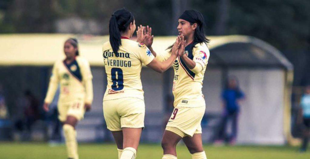 América en la primera posición de la Liga MX Femenil