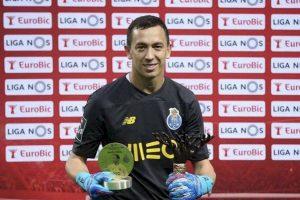 Marchesín elegido este lunes como el Mejor Portero de diciembre en la Liga de Portugal