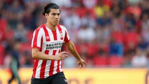Gutiérrez fue considerado en amistoso del PSV Eindhoven