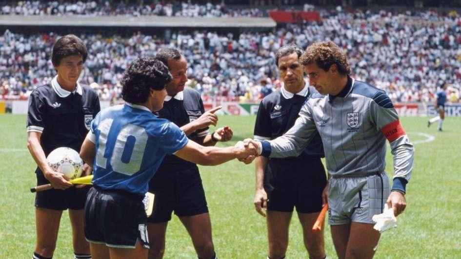 Peter Shilton reconoció no respetar a Maradona como deportista