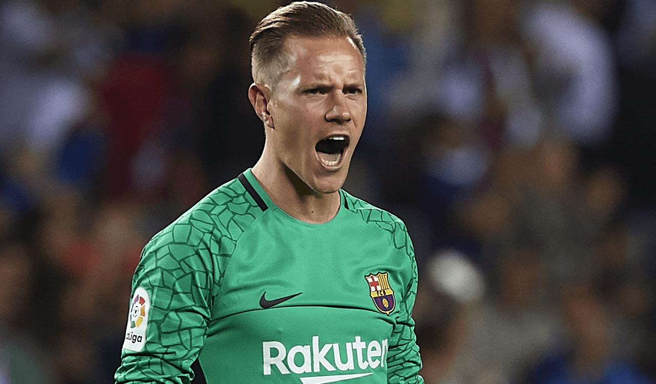 Marc-André Ter Stegen regresó a entrenar con Barcelona