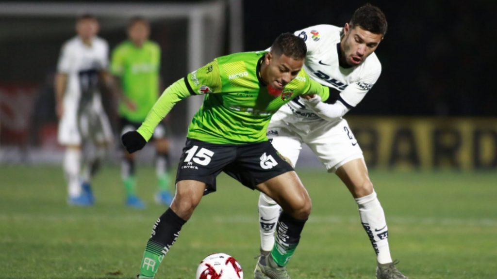 Atónito partido entre Pumas vs FC Juárez