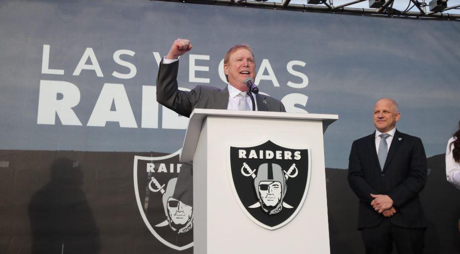 Lista la mudanza de Raiders a Las Vegas