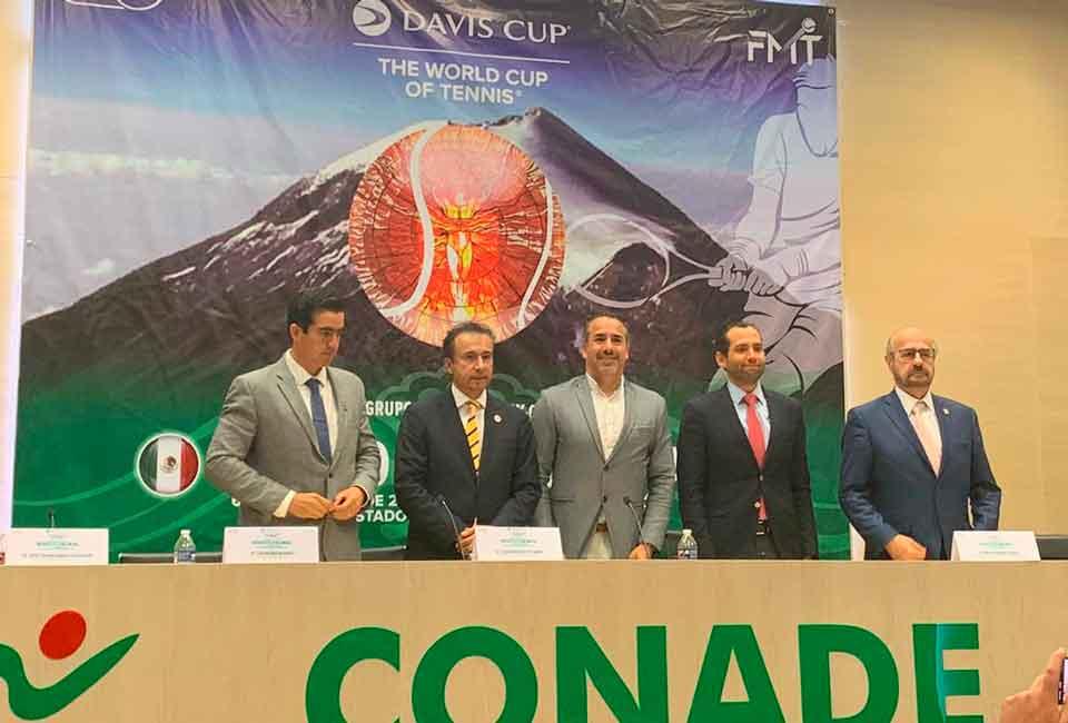 México confía en lograr ventaja en Copa Davis