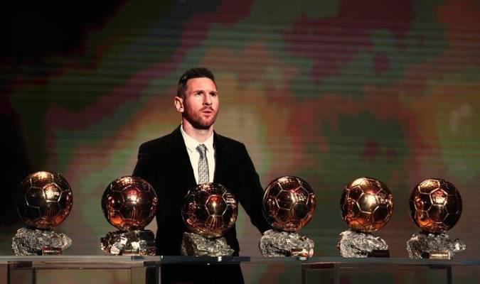 Lionel Messi, listo para jugar ante el Manchester City, en Champions League